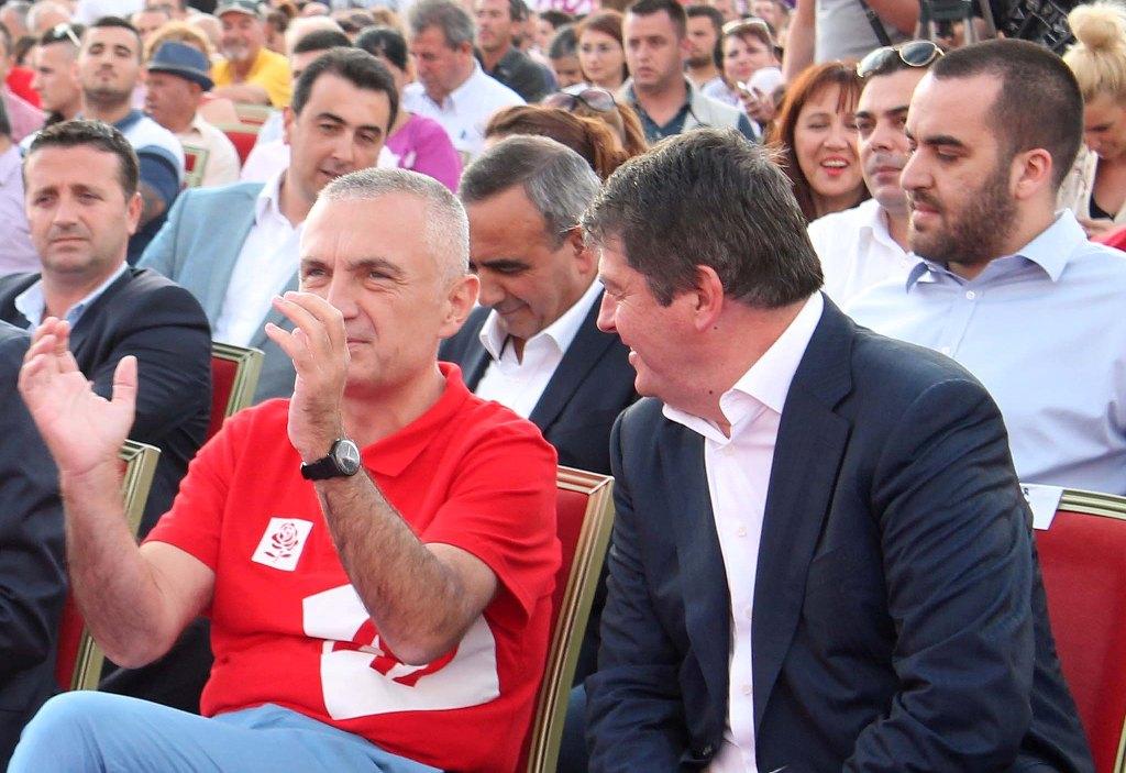 Foto arkiv, Ilir Meta, Bamir Topi